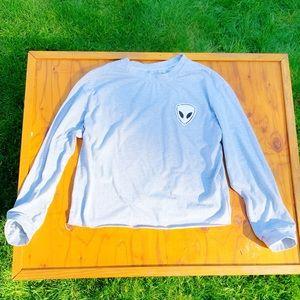 Tops - Alien Crop Top Shirt